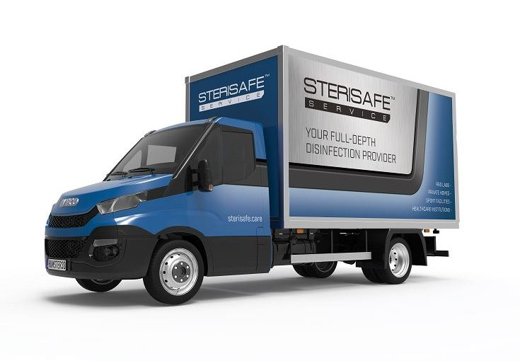STERISAFE service van disinfection