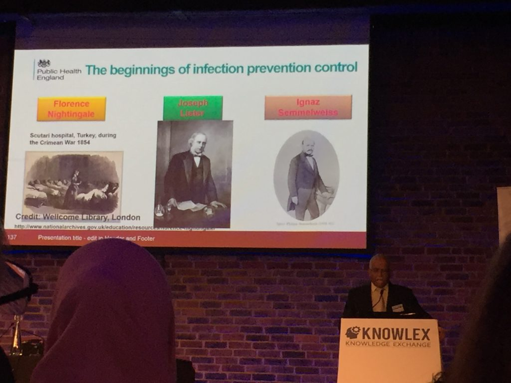 Infection prevention and control london