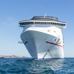 Disinfection on cruise ships and yachts